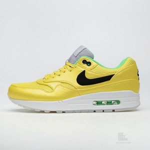 Nike Air Max 1 FB Premium QS Men's Size 11 11.5 Vibrant Yellow 665874